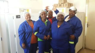 Members of the community participating in the hatchery project