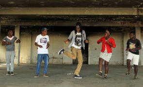 Youth ambassadors in rehearsal